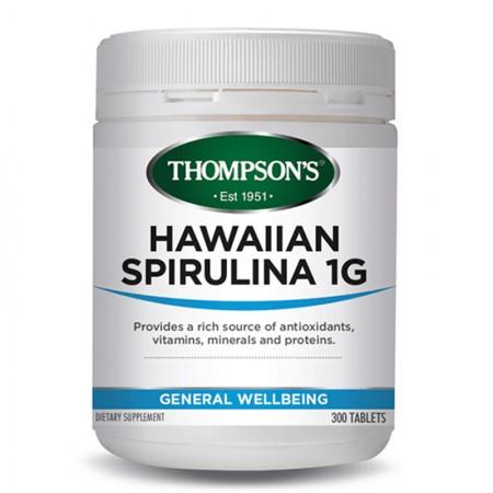 하와이안 스피루리나 1000mg